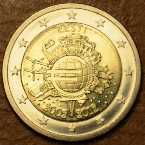 2 Euro Estonia 2012 - Ten years of Euro  (UNC)