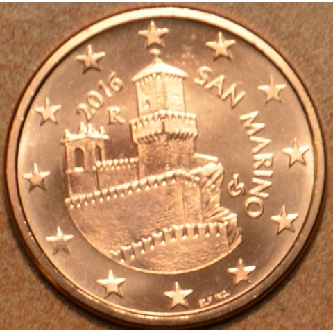5 cent San Marino 2016 (UNC)