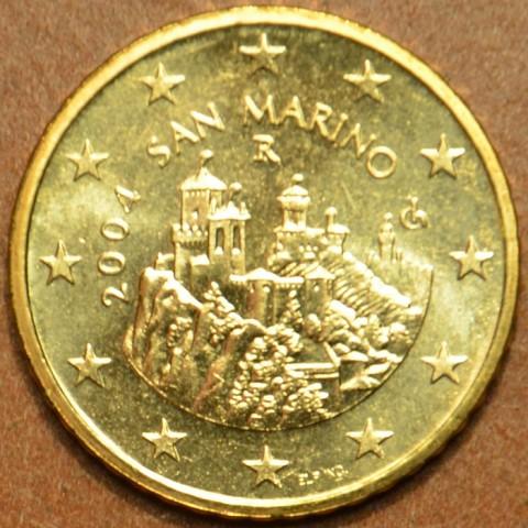 50 cent San Marino 2004 (UNC)