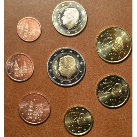Set of 8 coins Spain 2017 (UNC)