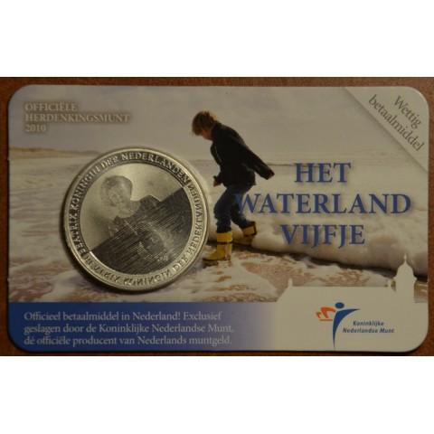 5 Euro Netherlands 2010 - Water land (BU card)