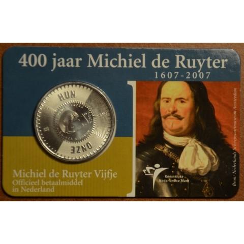 5 Euro Netherlands 2007 - de Ruyter (BU card)