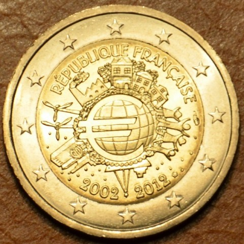 2 Euro France 2012 - Ten years of Euro  (UNC)
