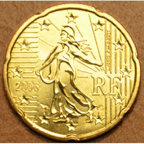 20 cent Francúzsko 2006 (UNC)