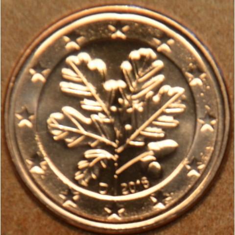 """5 cent Germany """"D"""" 2016 (UNC)"""