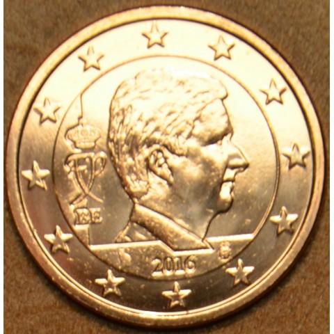 2 cent Belgicko 2016 - Kráľ Filip (UNC)