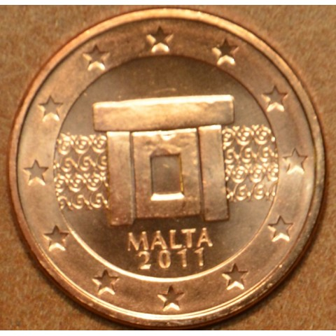 2 cent Malta 2011 (UNC)