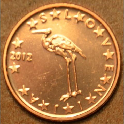 1 cent Slovinsko 2012 (UNC)