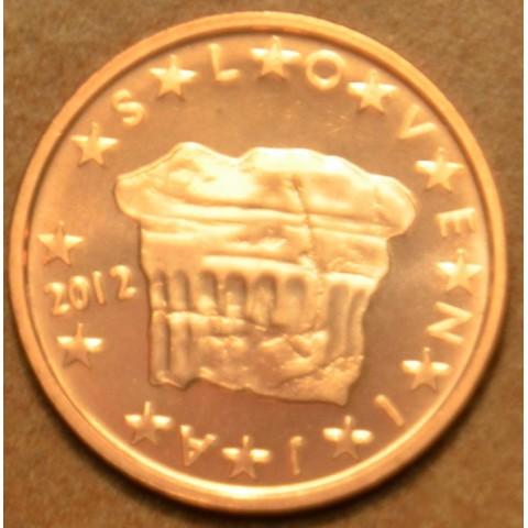 2 cent Slovenia 2012 (UNC)