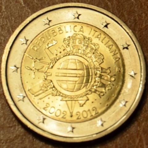 2 Euro Taliansko 2012 - 10. výročia vzniku Eura (UNC)