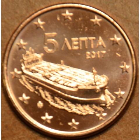 5 cent Grécko 2017 (UNC)