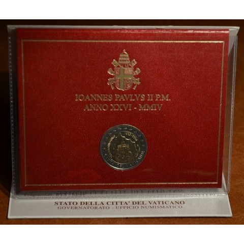 2 Euro Vatican 2004 - 75th anniversary of the founding of the Vatican City State (BU)