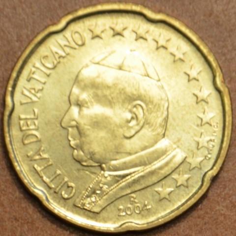 20 cent Vatican His Holiness Pope John Paul II 2004 (BU)