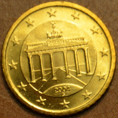 """10 cent Nemecko """"G"""" 2004 (UNC)"""