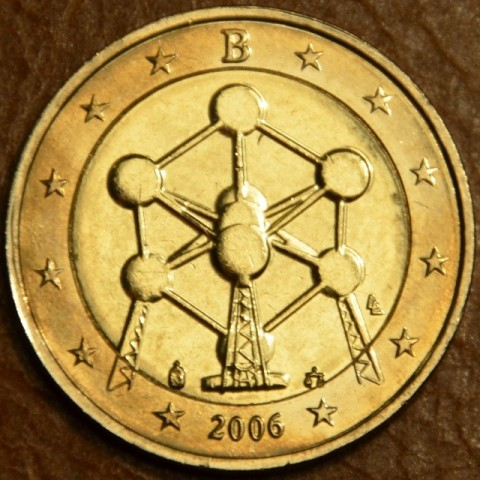 2 Euro Belgicko 2006 - Atómium (UNC)