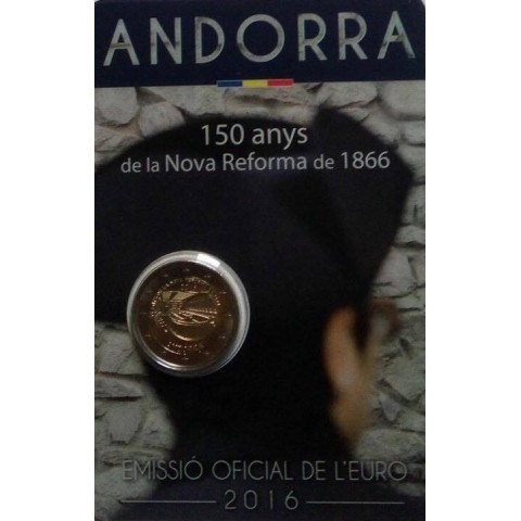 2 Euro Andorra 2016 - New reforms (BU card)