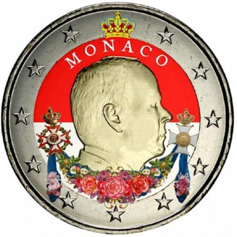 2 Euro Monaco 2015 (colored UNC)