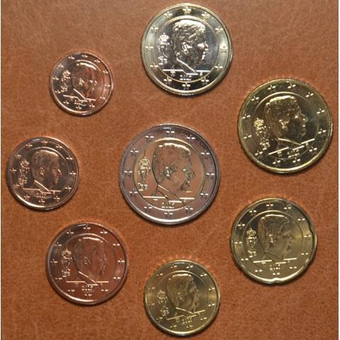 Sada 8 belgických mincí 2017 (UNC)