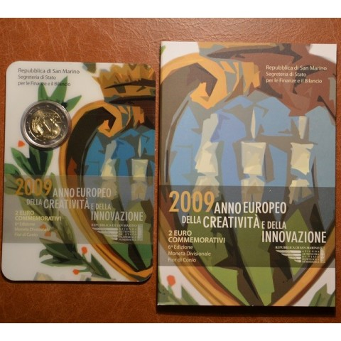 2 Euro San Marino 2009 - Európsky rok kreativity a inovácií (BU)