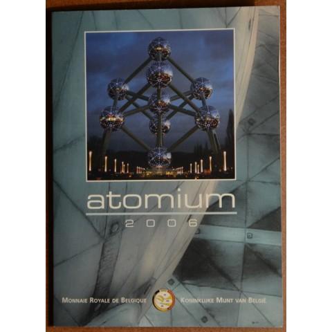 2 Euro Belgicko 2006 - Atómium (BU karta)