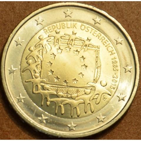 2 Euro Rakúsko 2015 - 30 rokov Europskej vlajky  (UNC)
