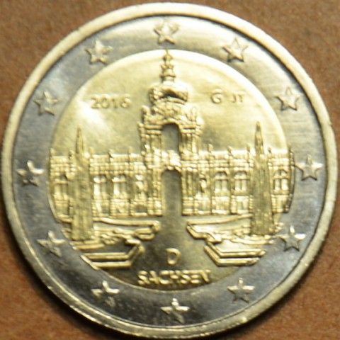 "Presale 2 Euro Germany ""G"" 2016 - Saxony: Dresden  (UNC)"