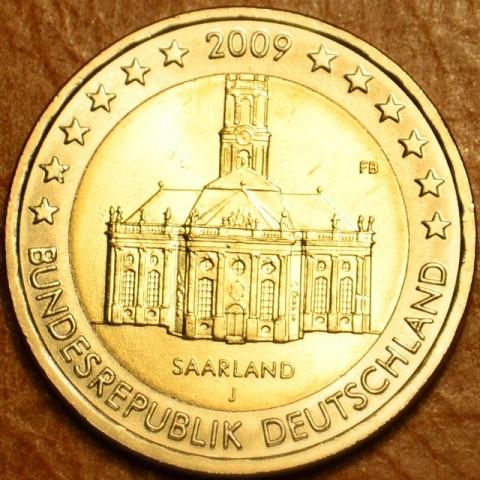 "2 Euro Germany ""J"" 2009 - Ludwigskirche in Saarbrücken (UNC)"