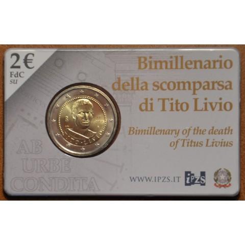 2 Euro Italy 2017 - Tito Livio (BU card)