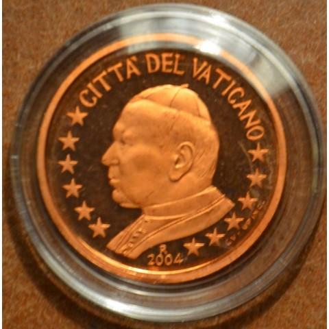 5 cent Vatican His Holiness Pope John Paul II 2004 (Proof)