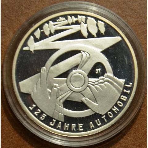 "10 Euro Nemecko ""F"" 2011 Výročie automobilizmu (Proof)"