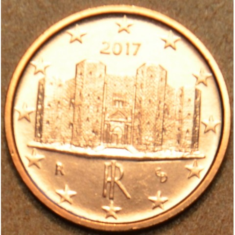 1 cent Italy 2017 (UNC)
