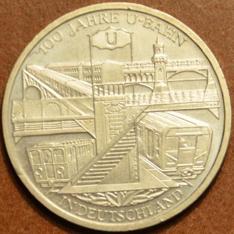 "10 Euro Nemecko ""D"" 2002 - U-Bahn (UNC)"