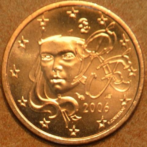 2 cent Francúzsko 2006 (UNC)