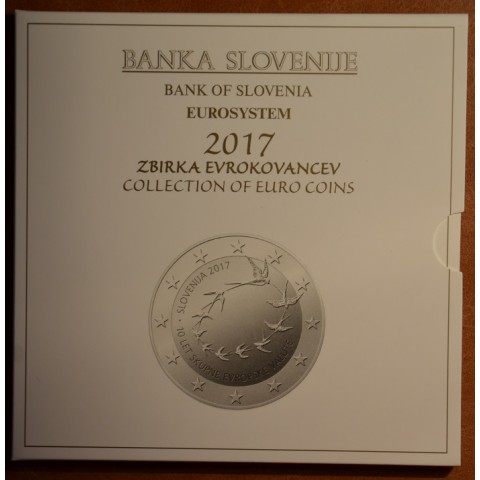 10 dielna sada Slovinsko 2017  (BU)