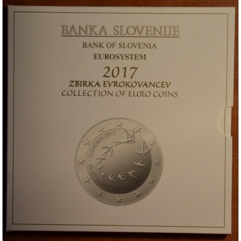Set of 10 coins Slovenia 2017 (BU)