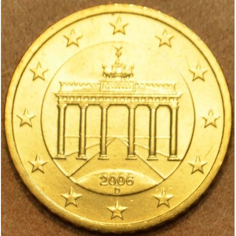 """50 cent Germany """"D"""" 2006 (UNC)"""
