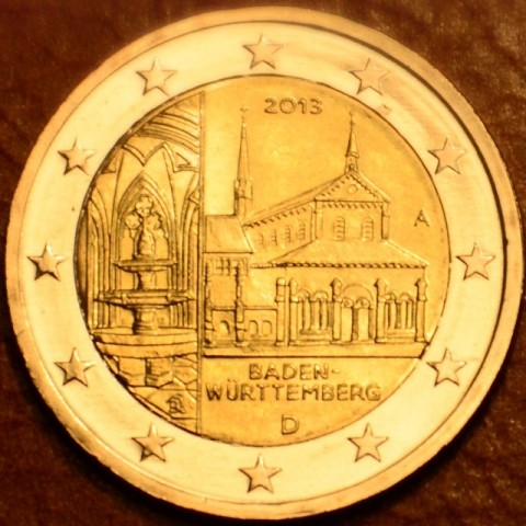 "2 Euro Germany ""A"" 2013 - Baden-Württemberg: Kloster Maulbronn (UNC)"