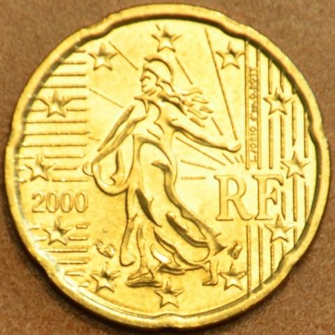 20 cent Francúzsko 2000 (UNC)