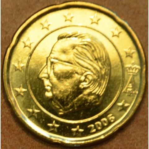 20 cent Belgicko 2006 (UNC)