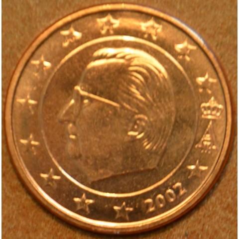 2 cent Belgium 2002 (UNC)
