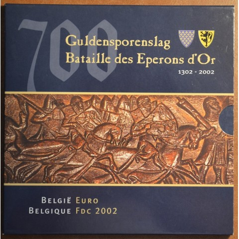 Set of 8 coins Belgium 2002 (BU)