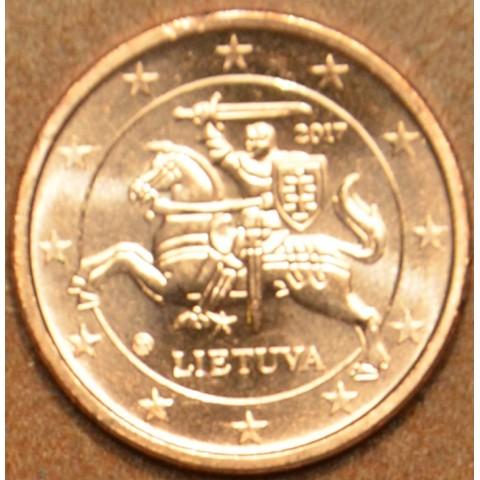 1 cent Lithuania 2017 (UNC)