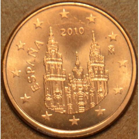 1 cent Španielsko 2010 (UNC)