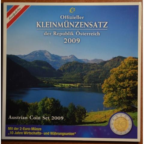 Set of 8 coins Austria 2009 (BU)