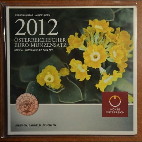 Set of 8 coins Austria 2012 (BU)