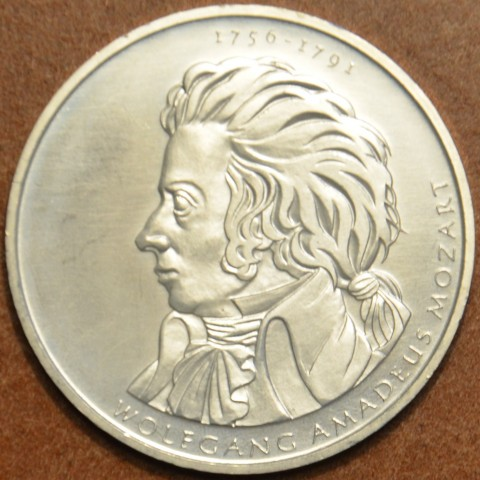 "10 Euro Germany ""D"" 2006 Mozart (UNC)"