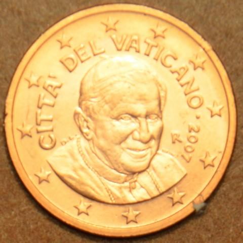 1 cent Vatican His Holiness Pope Benedict XVI. 2007 (BU)