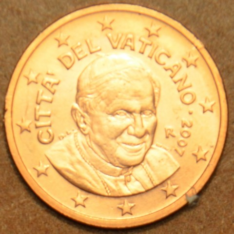 2 cent Vatican His Holiness Pope Benedict XVI. 2007 (BU)