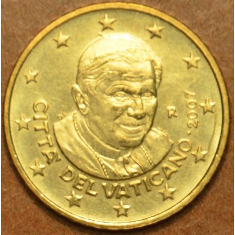 10 cent Vatican His Holiness Pope Benedict XVI. 2007 (BU)