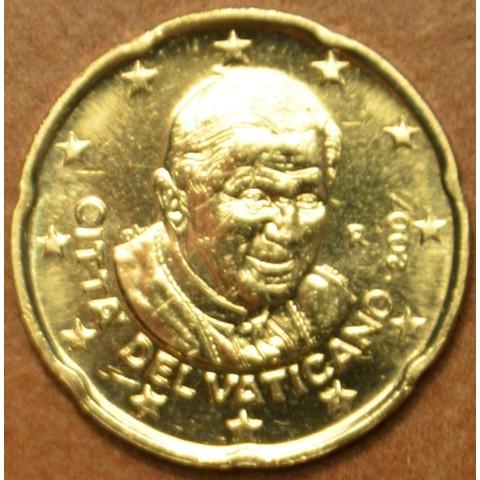 20 cent Vatican His Holiness Pope Benedict XVI. 2007 (BU)
